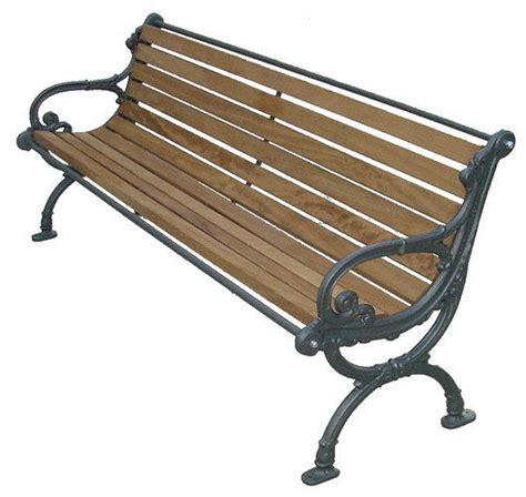 panchine in ghisa e legno panchina legno pino e ghisa con braccioli arredo esterno