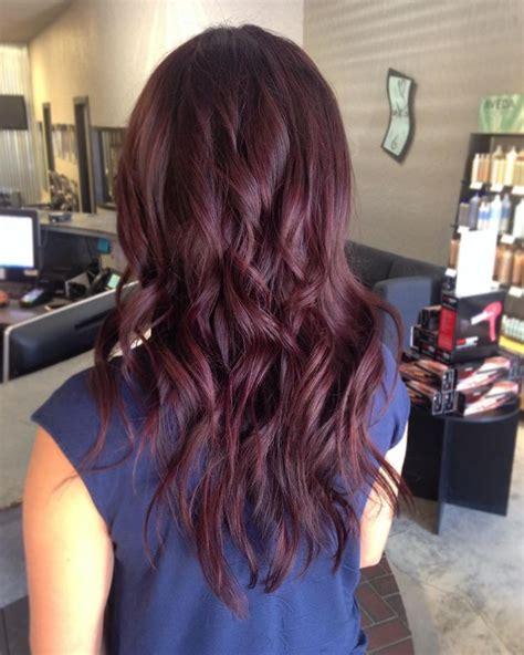 cherry hair color best 25 chocolate cherry hair ideas on