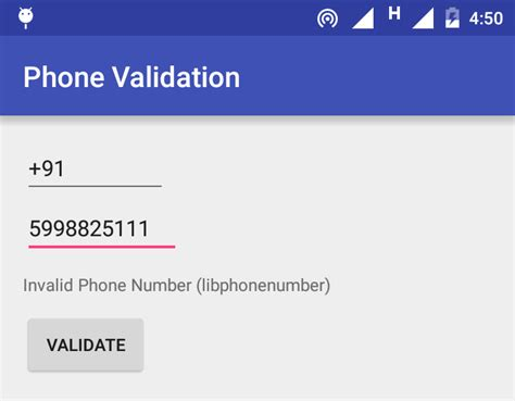 android phone number validate phone number in android using libphonenumber library sone valley