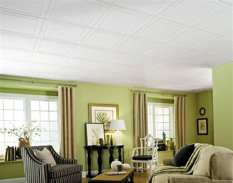 raised ceiling single raised panel homestyle ceilings coffered paintable