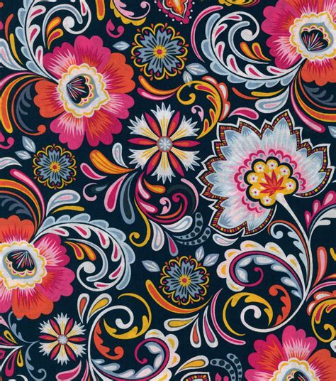 Online Home Decor Shopping Sites India by Keepsake Calico Cotton Fabric Majestic Floral Jo Ann