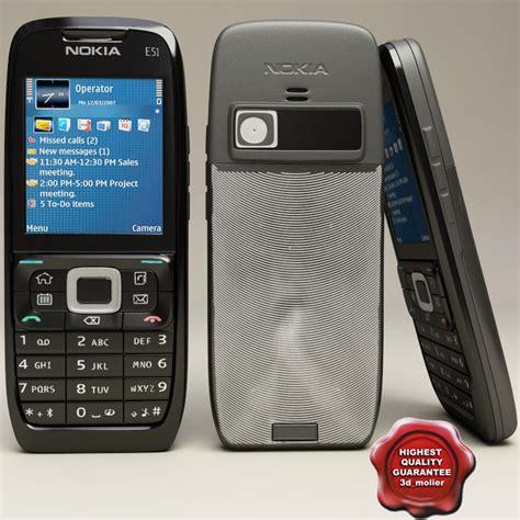 Casing Nokia E51 Set Original 3d realistic nokia e51 model