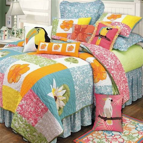 tropical themed bedding beach themed bedding for cold winter nights www nicespace me
