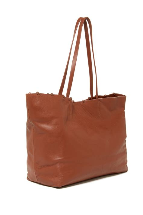 Cynthia Rowleys Leather Tote From Neiman by Cynthia Rowley Leather Tote Nordstrom Rack
