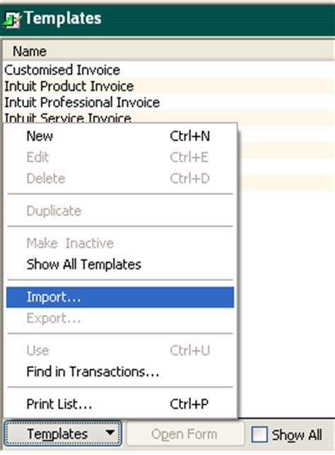quickbooks supplied template integrated label invoices for quickbooks