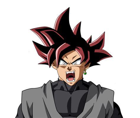 black goku goku black on dragonball ultimatum deviantart