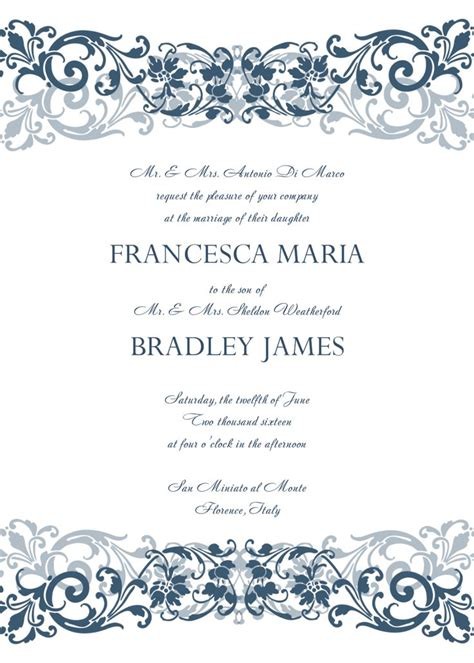 free templates for invitations with photo best 25 invitation templates ideas on pinterest baby