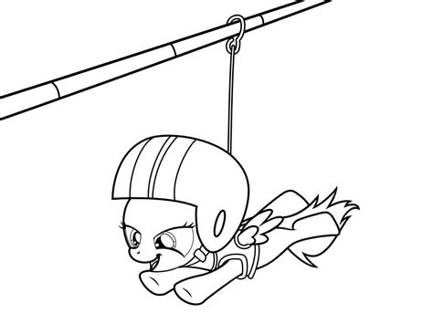 coloring book zip mlp coloring page zipline by scienceisanart on deviantart