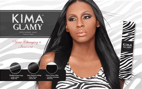 Kima Glamy | harlem 125 kima glamy 100 human hair weave