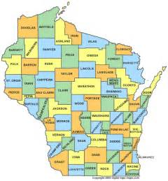 counties map wisconsin county map wi counties map of wisconsin