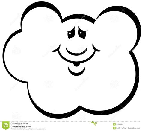 eps format adobe illustrator cloud cartoon vector clipart stock vector image 41776427