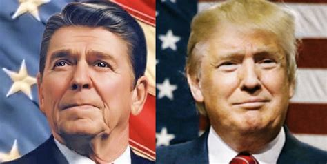 ronald reagan donald trump look at the shocking difference between when ronald reagan