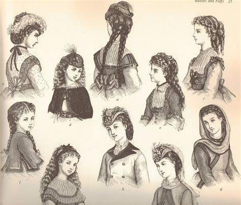 edwardian hairstyles for women victorian nonsense december 2010