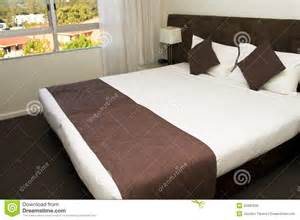 how large is a king size bed large king size luxury hotel bed stock photo image 25987630