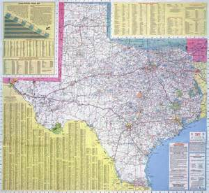State Road Maps by Large Road Map Of The State Of Texas Texas State Large