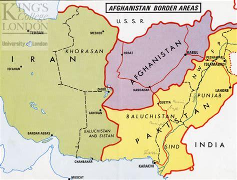 map of soviet afghan war afghanistan ussr map