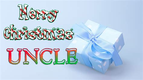 merry christmas uncle christmas  card ecard youtube