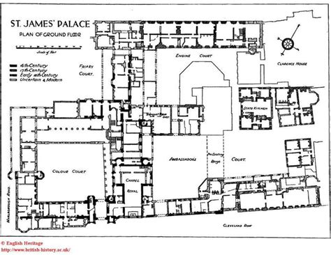 palace floor plans st james palace plan of the ground floor imperial and
