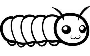 To Print Very Big Caterpillar Coloring Pages Kids Out Colorine sketch template