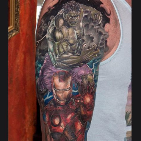 iron man tattoos iron and shoulder best ideas gallery