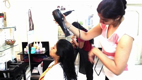 billywood hair dressing touch and glow bangalore youtube