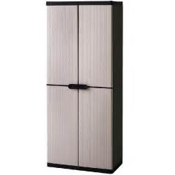 Keter Storage Cabinet Keter 4 Shelf Plastic Storage Cabinet Cupboard Buy Click Frenzy