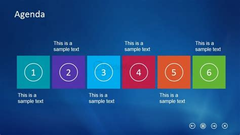 slide powerpoint template horizontal layout slide design agenda for powerpoint