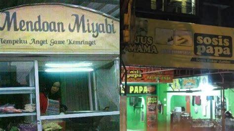kedai langsir di batam recommend bikin cekikikan inilah nama 5 kedai unik di indonesia