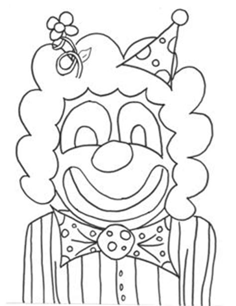 coloring pages of clown hats clown hats colouring pages free printable coloring pages