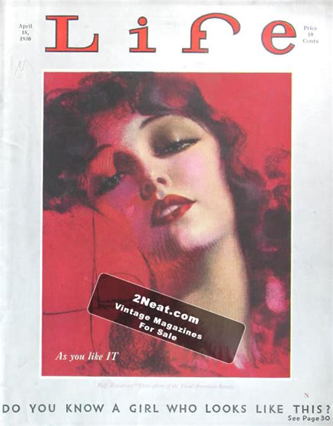 magazine biography exle for sale life magazine april 18 1930 2476 rolf