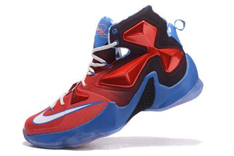 nike basketball shoes usa nike lebron 13 usa white blue basketball shoes new