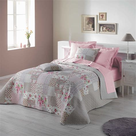 boutis couvre lit jet de lit dessus de lit 220 x
