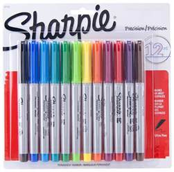 sharpie pens colors sharpie permanent markers ultra point 12 assorted