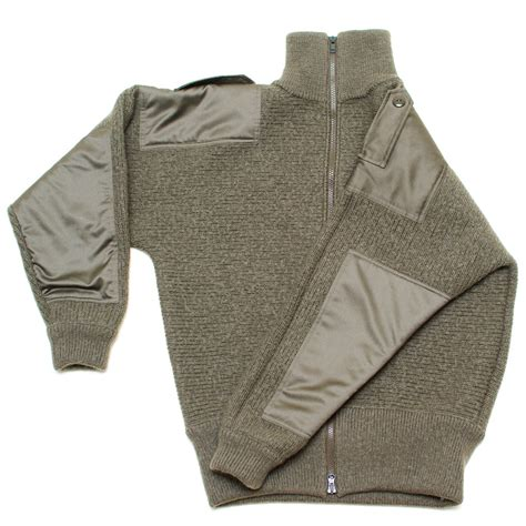 Sweater Loreng Gurun Sweater Army dachstein woolwear cardigan sweater sweater chalet