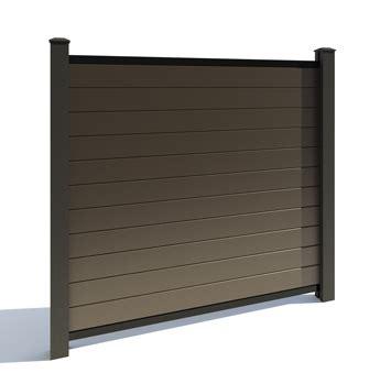 Cloture Aluminium 329 by Cl 244 Ture En Composite Meilleures Planches De Composite Gsq
