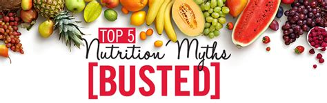 7 Popular Sugar Myths Busted Your Will Thank You by 11 Diet Myths Busted Dogsgala