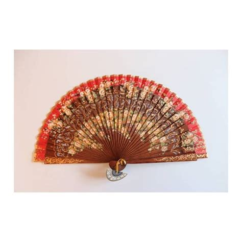Handmade Fan - fan with certificate handmade painted and