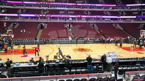 section 101 united center united center section 101 chicago bulls rateyourseats com