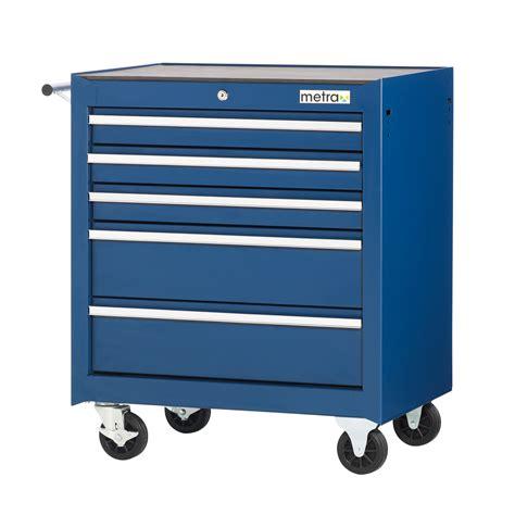 5s schublade werkstattwagen mit 5 schubladen blau werkzeugwagen
