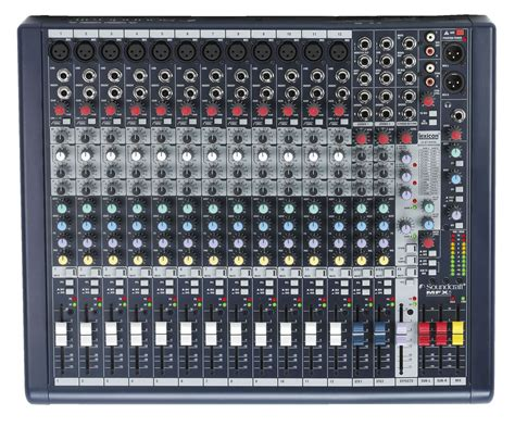 Mixer Cina 12 Chanel soundcraft mfxi12 12 channel mixer with lexicon fx pssl