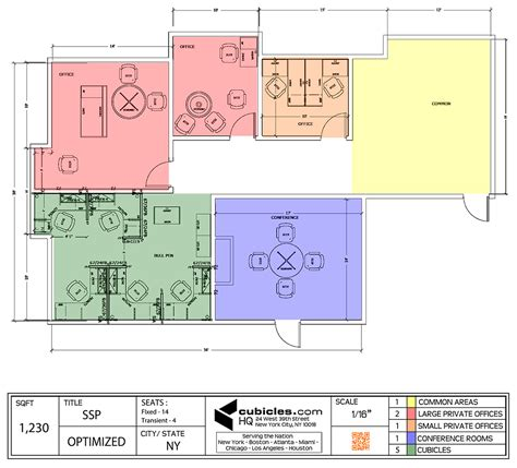 cubicle floor plan office floor plan for two large offices and cubicles in