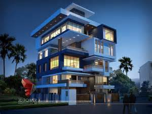 3d exterior home design free ultra modern home designs home designs 3d exterior home design night view