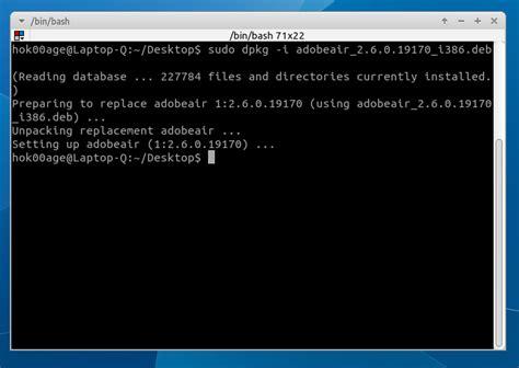deb file installer application
