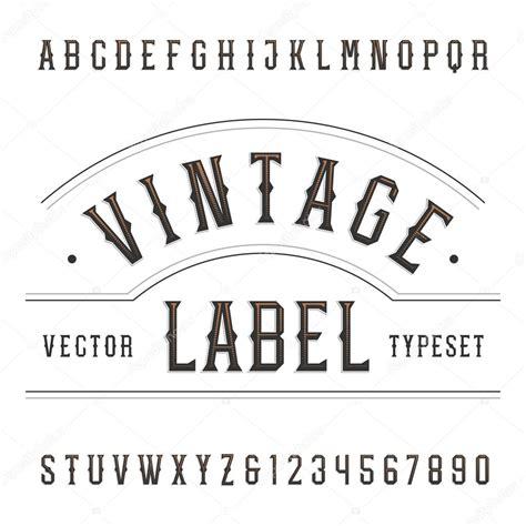 imagenes retro soda letra fuente de vector alfabeto vintage tipo de letras y