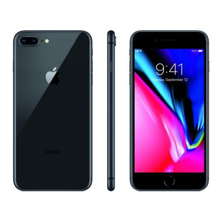 Iphone 8 Plus Ipaky 3 In 1 With I Ring Original total wireless prepaid apple iphone 8 plus 64gb space gray walmart