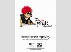 Awareness Posters and Videos | RIT Information Security Office Templates Employee Information