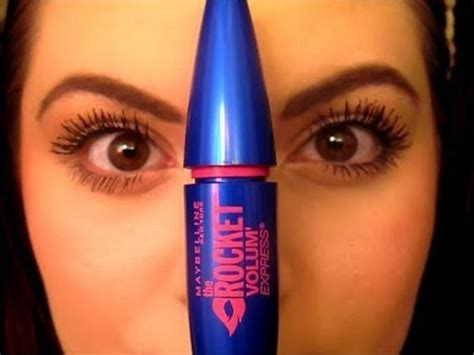 Maybelline Rocket Mascara review demo maybelline the rocket mascara