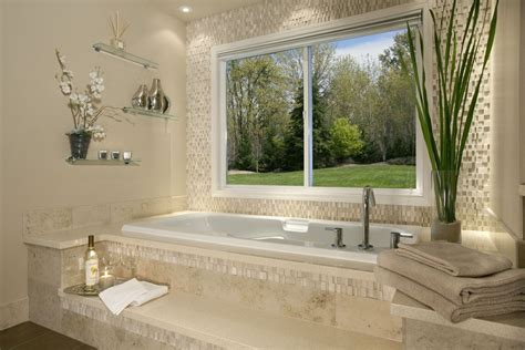 contemporary master bathroom with drop in bathtub modern master bathroom with drop in bathtub by scott