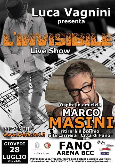 bcc fano l invisibile live show all arena bcc a fano live in italia