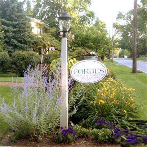 Light Post Landscaping Ideas Driveway Entrance Landscaping W Some Shaped Evergreens To